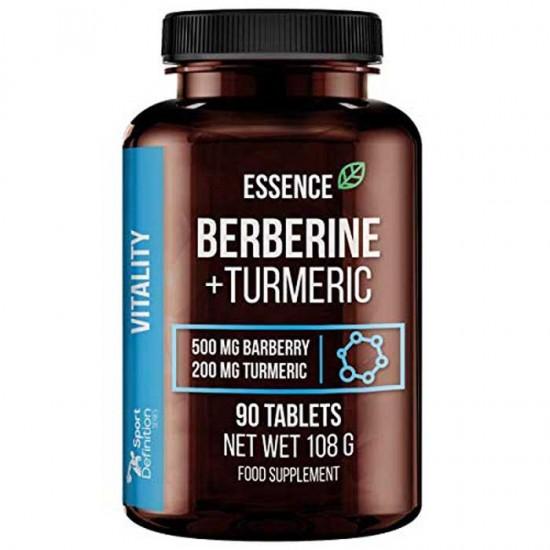 Berberine Turmeric 90 tabs - Essence Nutrition