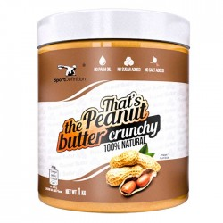 That's the Peanut Butter 1kg - Sport Definition / Φυστικοβούτυρο