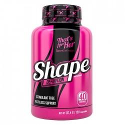 Shape Definition 120 κάψουλες - Sport Definition That's For Her / Γυναικείος Λιποδιαλύτης