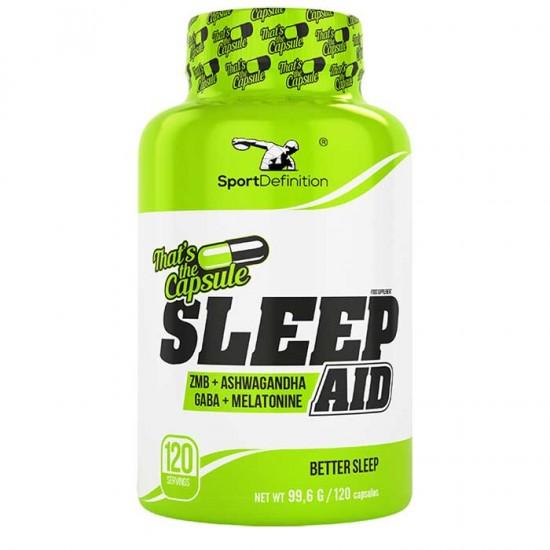 Sleep Aid 120 ταμπλέτες - Sport Definition / Άγχος - Στρες - Αϋπνία