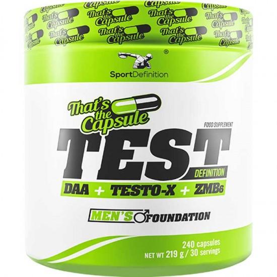 TEST Definition 240 caps - Sport Definition  / Ενίσχυση - Τεστοστερόνη