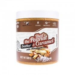 That's the Peanut and Caramel Butter 500γρ με Αλάτι Ιμαλαΐων- Sport Definition / Φυστικοβούτυρο Καραμέλα