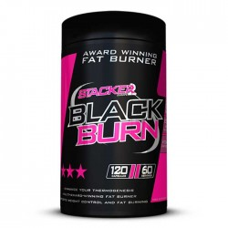 Black Burn 120 κάψουλες - Stacker  / Θερμογεννετικός Λιποδιαλύτης