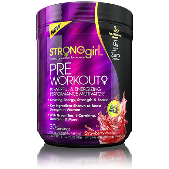 Pre-workout 219γρ - StrongGirl / Προ-Εξασκητικό