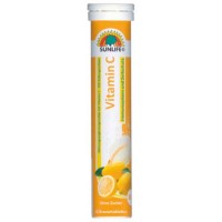Vitamin C effervescent 20 tabs - Sunlife / αναβράζουσα C
