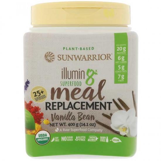 Illumin8 400gr Sunwarrior / Υποκατάστατο γεύματος