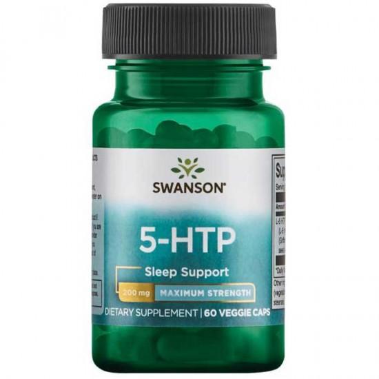 5-HTP 200mg Maximum Strength 60 vcaps - Swanson