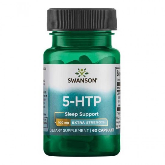 5-HTP 100mg Extra Strength 60 caps - Swanson