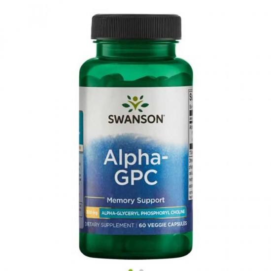 Alpha-GPC 60 vcaps - Swanson