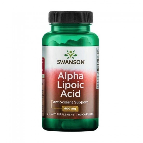 Alpha Lipoic Acid 600mg 60caps - Swanson