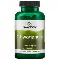 Ashwagandha 900mg 100 κάψουλες - Swanson / Ανοσοποιητικό