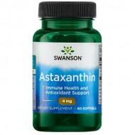 Astaxanthin 4mg 60 softgels - Swanson