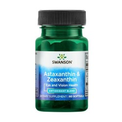 Astaxanthin & Zeaxanthine 60 caps - Swanson