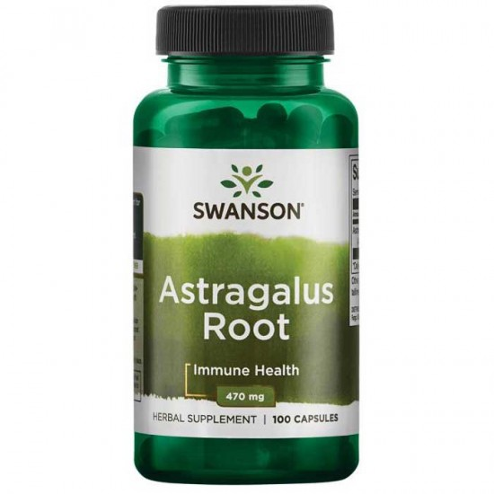 Astragalus Root 470mg 100 caps - Swanson