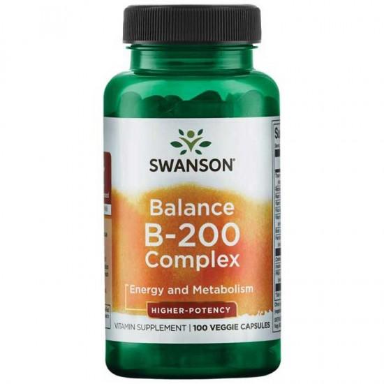 Balance B-200 Complex 100vcaps - Swanson