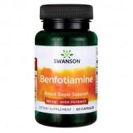 Benfotiamine High Potency 160mg 60caps - Swanson / Β1 - Θειανίνη