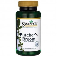 Butcher's Broom 470mg 100 caps - Swanson