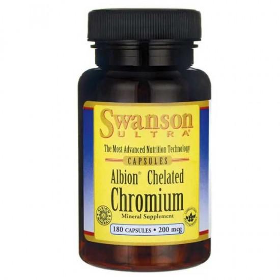 Albion Chelated Chromium Glycinate 180 caps - Swanson