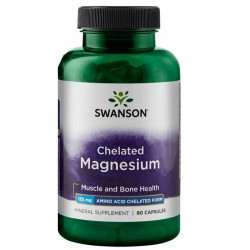 Albion Chelated Magnesium 133mg 90 caps - Swanson