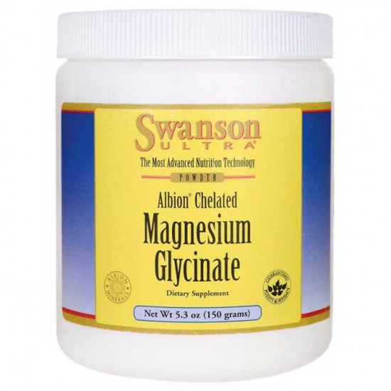 Albion Chelated Magnesium Glycinate Powder 150g - Swanson