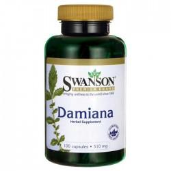 Damiana 510mg 100 caps - Swanson