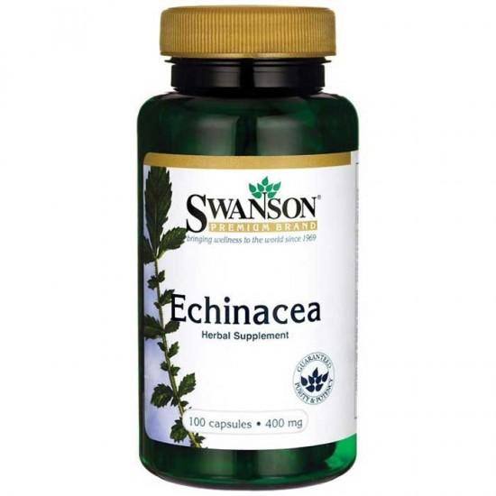 Echinacea 400mg 100 caps - Swanson