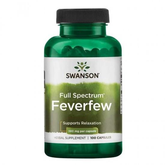Feverfew 100 caps - Swanson