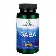 GABA, 500mg - 100 caps - Swanson