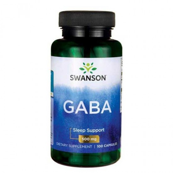 GABA 500mg - 100 caps - Swanson