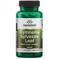 Gymnema Sylvestre Leaf 400mg 100 caps - Swanson