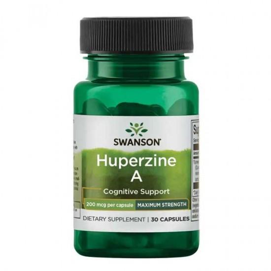Huperzine A 200mcg 30 caps - Swanson