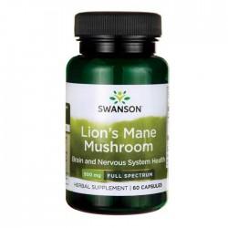 Lion's Mane Mushroom, 500mg - 60 caps - Swanson