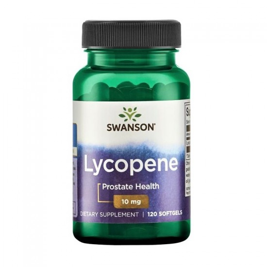 Lycopene 10mg 120 Sgels - Swanson