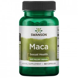 Maca Extract 500mg 60 caps - Swanson