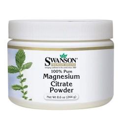 Magnesium Citrate 100% Pure Powder 244gr - Swanson