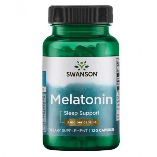 Melatonin 3mg 120 caps - Swanson
