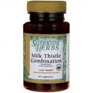 Milk Thistle Combination - 60 caps - Swanson / Συκώτι - Ηπατοπροστασία