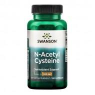 NAC - N-Acetyl Cysteine 600mg 100caps - Swanson