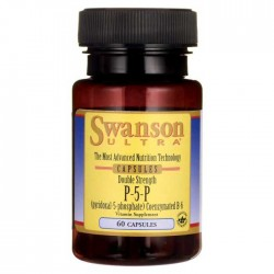 P-5-P Vitamin B-6 40mg 60 caps - Swanson / Pyridoxal-5-Phosphate