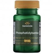Phosphatidylserine 100mg 30 caps - Swanson