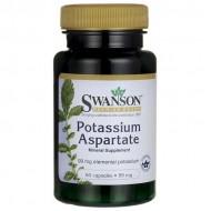 Potassium Aspartate 60 caps - Swanson