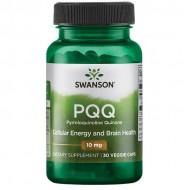 PQQ Pyrroloquinoline Quinone 10mg 30 φυτοκάψουλες - Swanson / Ειδικά Συμπληρώματα