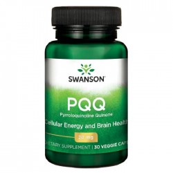 PQQ Pyrroloquinoline Quinone 20mg 30 φυτοκάψουλες - Swanson / Ειδικά Συμπληρώματα