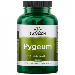Pygeum Standardized 500mg 120 caps - Swanson / Προστάτης
