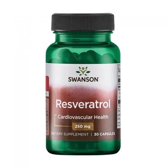 Resveratrol 250mg - 30caps - Swanson