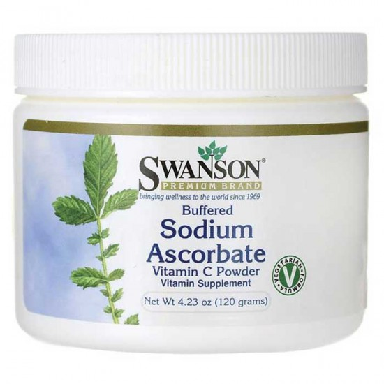 Buffered Sodium Ascorbate Vitamin C Powder 120 grams - Swanson