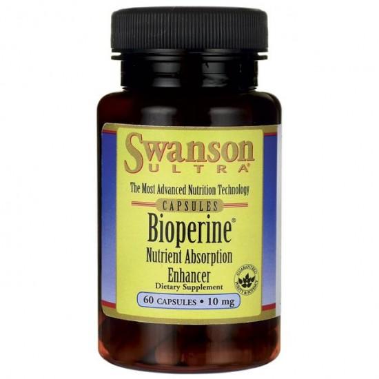 Bioperine 10mg 60 κάψουλες - Swanson / Ειδικά Συμπληρώματα