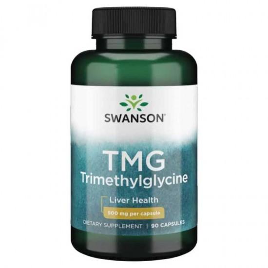 TMG Trimethylglycine 90 caps - Swanson
