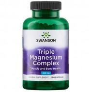 Triple Magnesium Complex 100 caps - Swanson