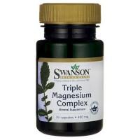 Triple Magnesium Complex 400mg 30 caps - Swanson